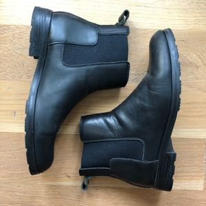 Hunter Men's Refined Leather Chelsea Boot / Size 7